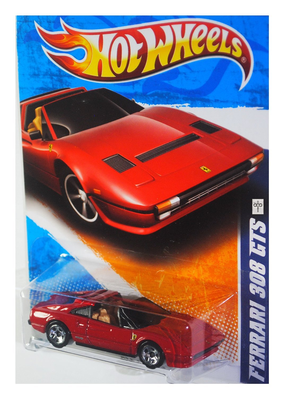 Hot Wheels 2011, Ferrari 308 GTS ROT 128/240. All All All Stars. 1: 64 Scale. 0d3e32