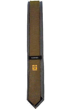 Versace corbata Tie cravatta corbata con botón Versace cabeza de ...