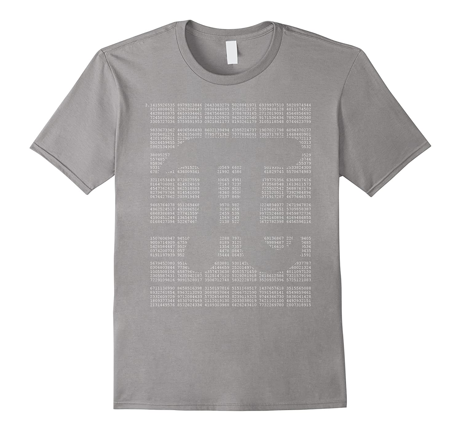All Pi Number on one Shirt with Pi Symbol T-Shirt-FL