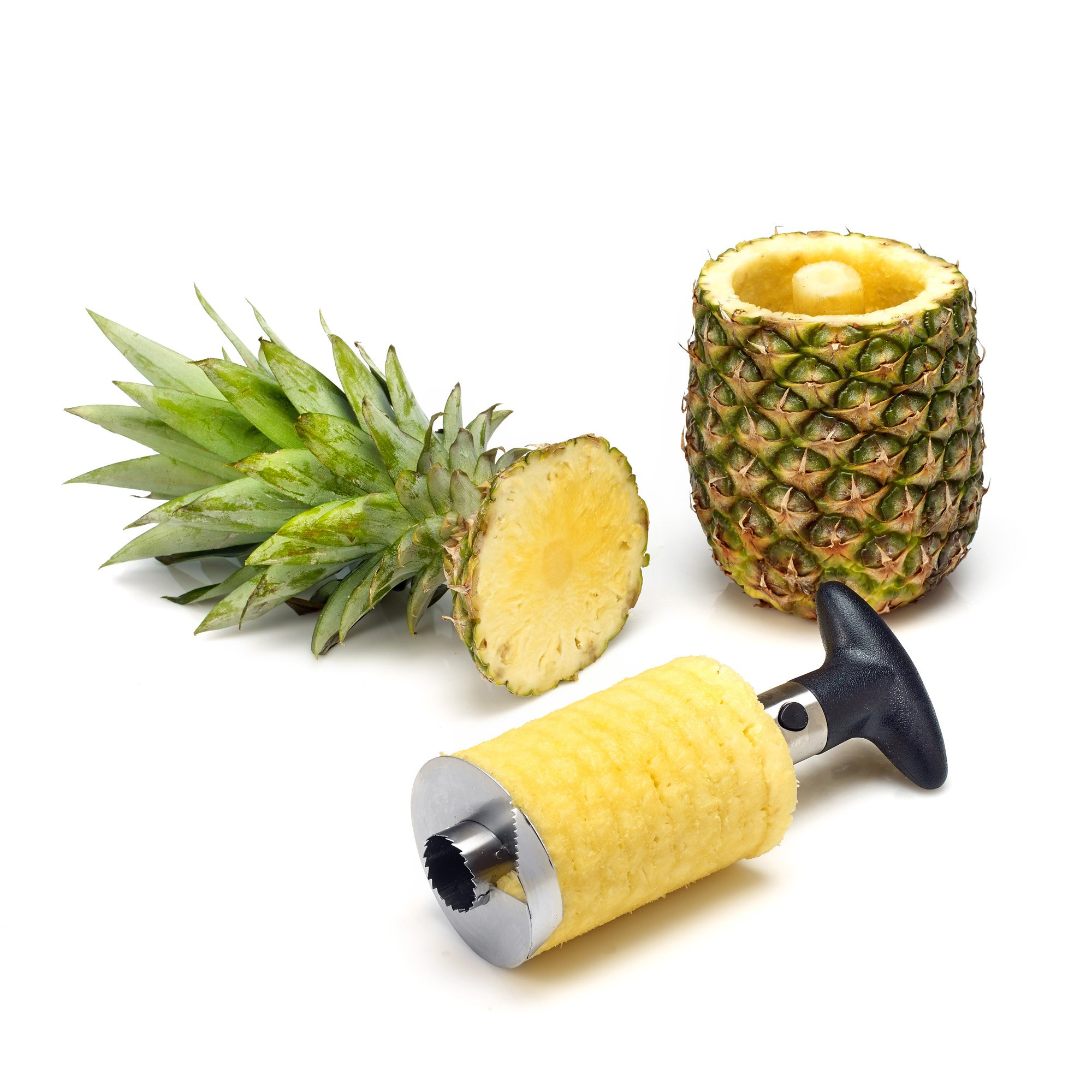 Pineapple Peeler Corer Slicer And Apple Core Remover Stainless Steel  Kitchen Set