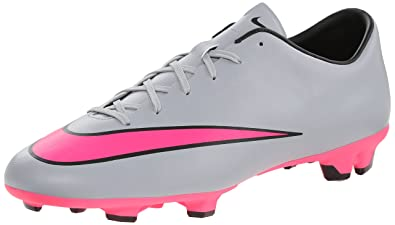 the latest 07583 0c2ab Nike Mercurial Victory V Fg, Chaussures de Running Entrainement homme, Gris  ( Grslou