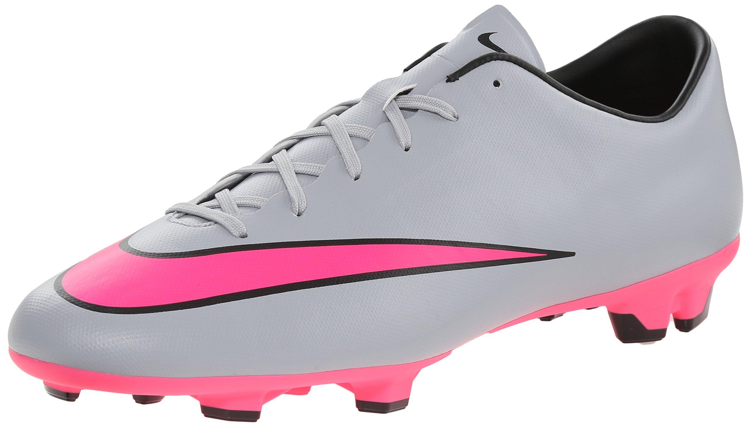 5522935c8f3d Galleon - Nike Men's Mercurial Victory V Fg Wolf Grey/Hyper Pink/Black/Blk Soccer  Cleat 8.5 Men US