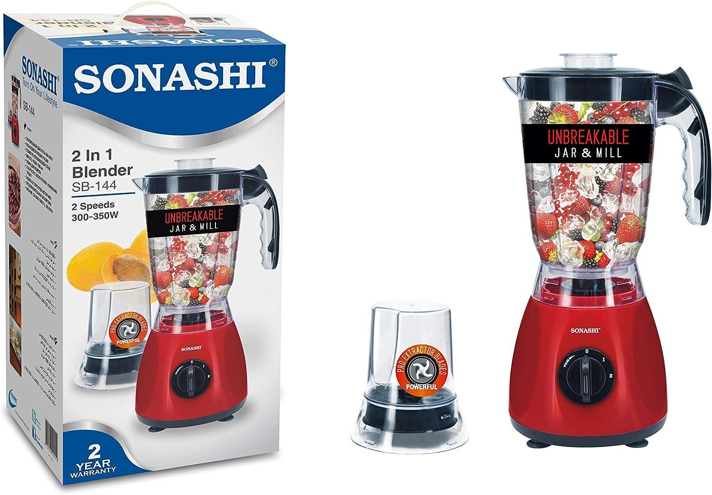 Mixeur Électrique 2en1 350W Sonashi Sb-144, imychic