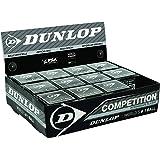 DUNLOP - Pelota de squash de competición, punto amarillo