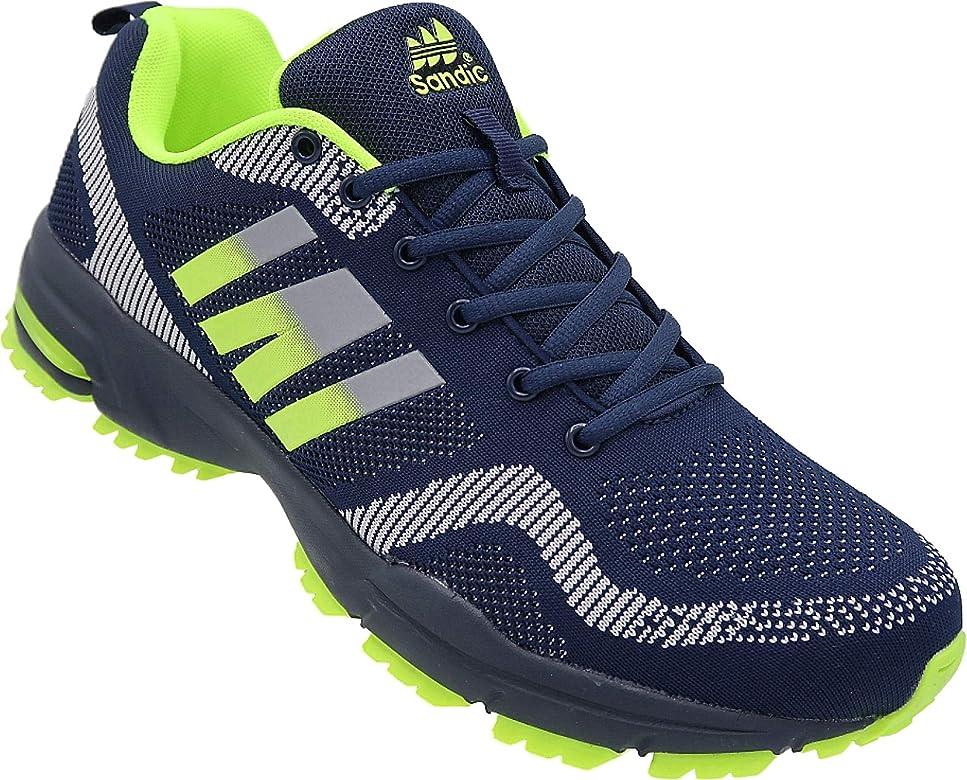 Zapatillas Deportivas para Hombre, Talla 47 – 49, número de Referencia 1388-H, Color Azul, Talla 48 EU: Amazon.es: Zapatos y complementos