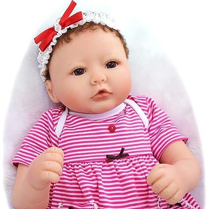 Amazon.es: Pursue Baby 20 Pulgadas Hermosa Bebes Reborn niña ...