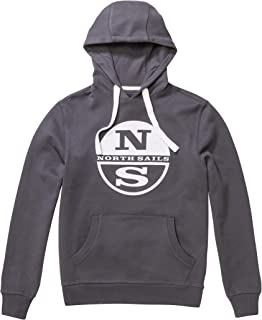North Sails Hooded W\Graphic, Felpa Uomo 692015