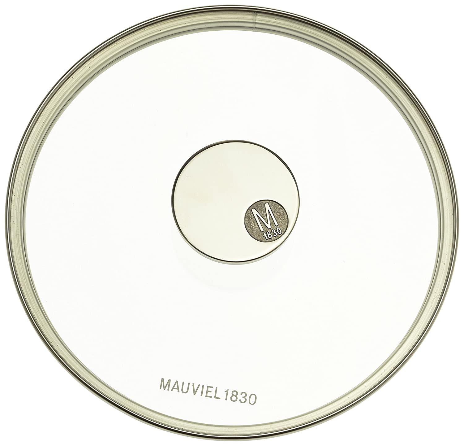 Mauviel M'360 5318.20 7.8-Inch Glass Lid with Cast Stainless Steel