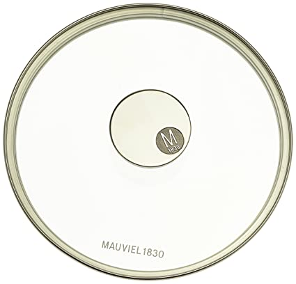 Mauviel Made In France M360 531820 78 Inch Glass Lid With Cast Stainless Steel
