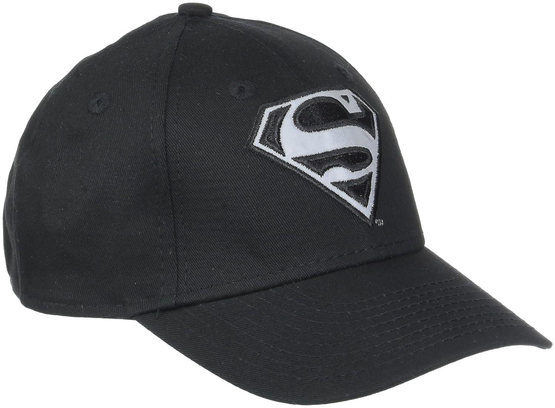 New Era Jr Boys  Reflect Superman Black Cap 9Forty 940 2803fbe81230