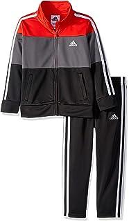 d3bfb0d1bfec Amazon.com  Adidas Girls  Tricot Zip Jacket and Pant Set  Clothing