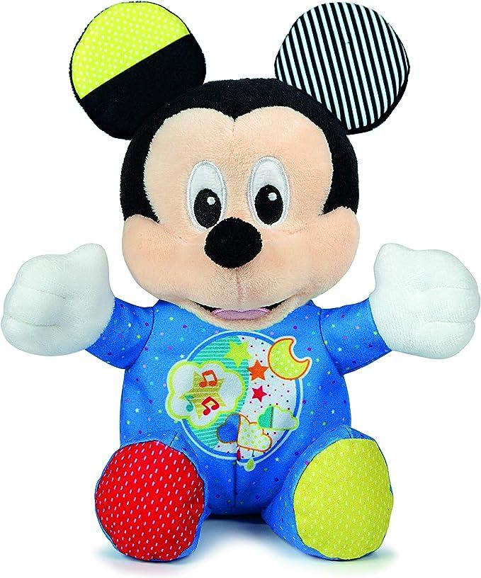 Clementoni - Peluche Baby Mickey (17206): Amazon.es: Juguetes y juegos