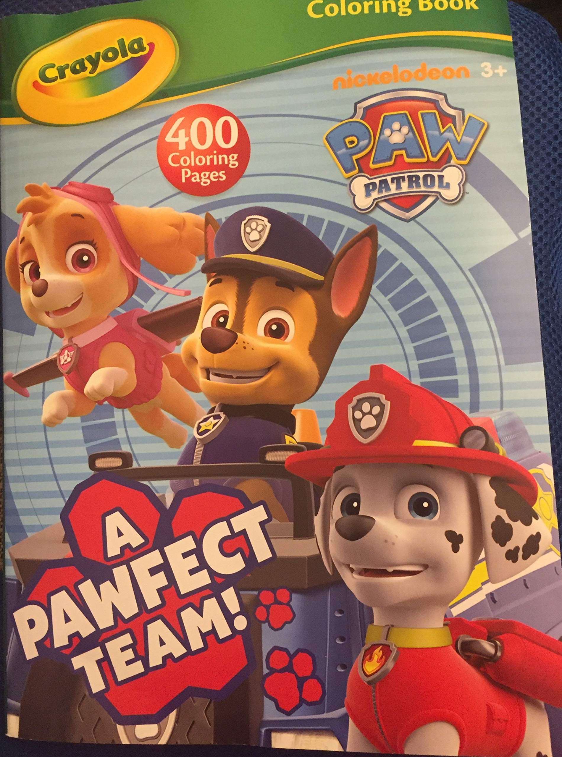- Crayola Paw Patrol 400 Page Coloring & Activity Book - A Pawfect