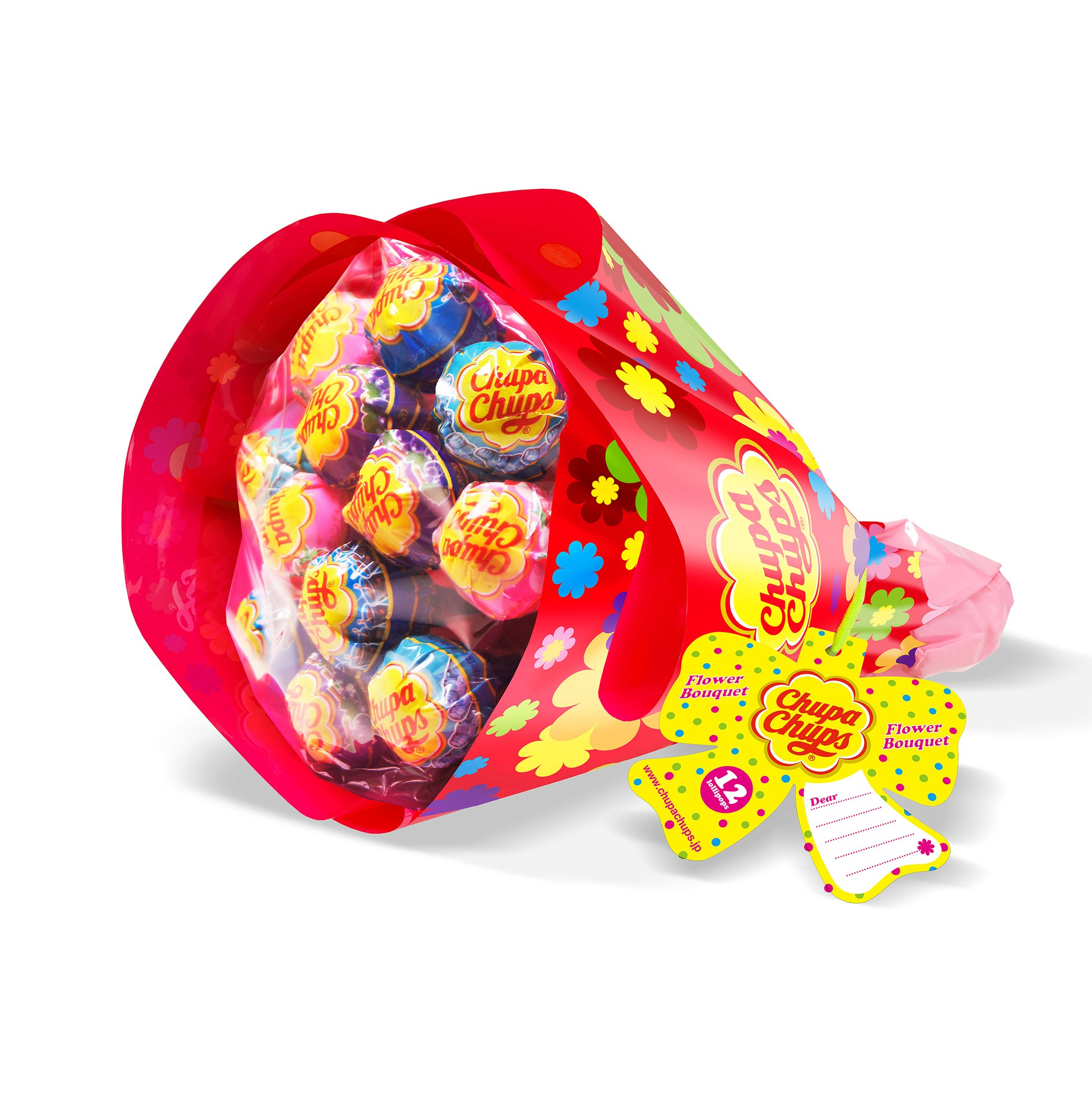 Kracie Chupa Chups Flower Bouquet (12 pieces)