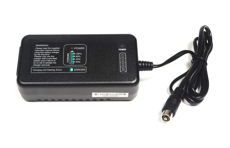 Elcon - Cargador de batería Inteligente de Alta frecuencia de 12 V, 4 A, Apto para Carrito de Golf de 12,8 V, baterías de Litio (LiFePo4), 10,5 mm, ...