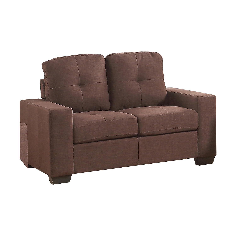 Amazon.com: Acme Furniture 52936 Platinum III Loveseat ...