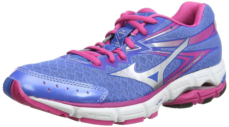Mizuno Wave Connect 2 Wos - Zapatillas de Running Mujer 38 EU Azul índigo