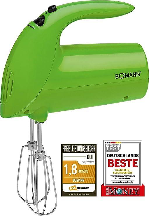 Bomann HM 350 CB Batidora de varilla especial repostería, 5 ...