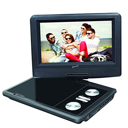 SuperSonic SC-178 Portable DVD Player 7