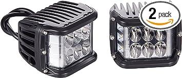 """2X Side Shooter 4/"""" inch 45W LED Work Light Pods Combo Beam Wrangler RZR Toyota"""