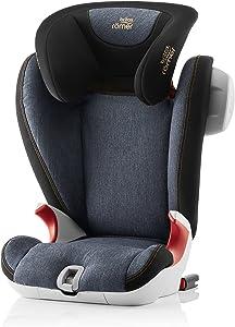 Britax Römer Kidfix SL SICT Black Series - Silla de coche, grupo 2/3 (15-36 kg)