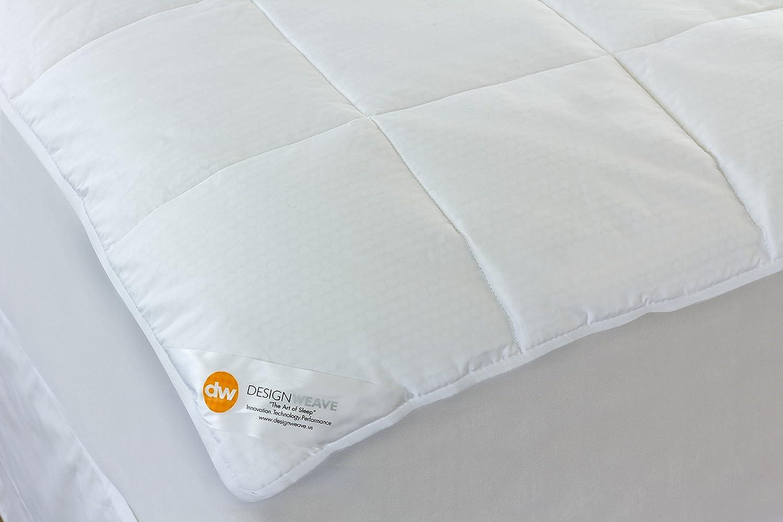 Amazon.com: Outlast All Season Temperature Regulating Hypoallergenic Pillowtop Mattress Pad – Reduces Night Sweats, 350 Thread Count, 100% Cotton, White, ...
