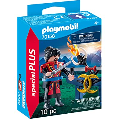 PLAYMOBIL 70158 Special Plus Asian Fighter Multi-Coloured: Toys & Games