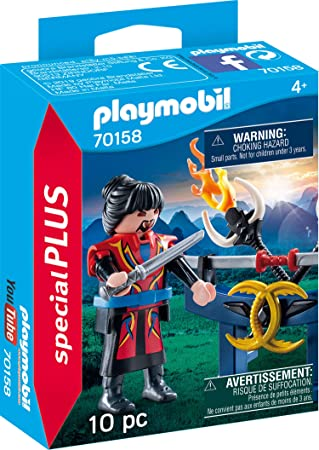 Playmobil 70158 Special Plus Asia Guerrero, Multicolor