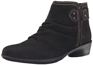 Cobb Hill Rockport Womens Nicole Boot Black