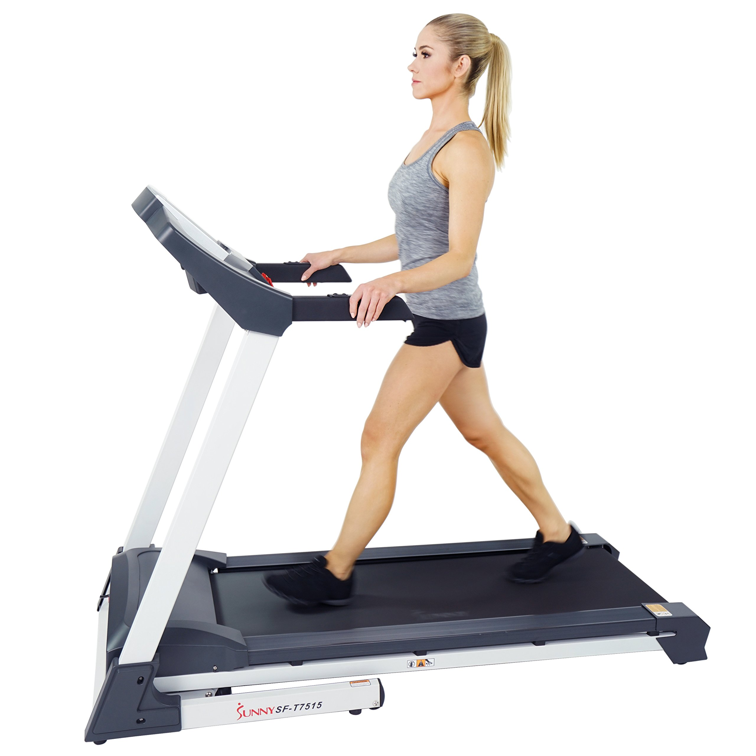 Sunny Health & Fitness SF-T7515 Smart Treadmill with Auto Incline, Bluetooth and BMI Calculator by Sunny Health & Fitness (Image #16)