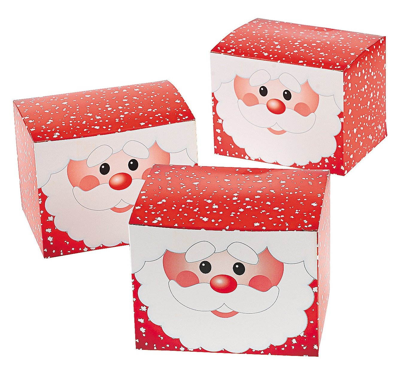 SANTA GIFT BOX - Party Supplies - 12 Pieces