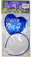 Katy Perry Blue Heart Headband Costume Accessory