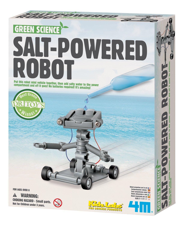 4 m Salt Water Powered Robot Kit Toysmith 3688