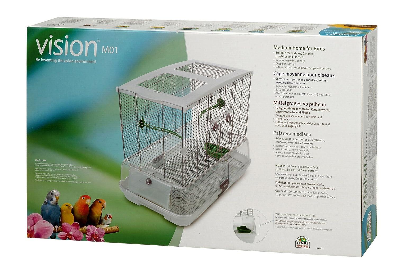 Vision M01 - Jaula, 62.5 x 39.5 x 53 cm: Amazon.es: Productos para ...