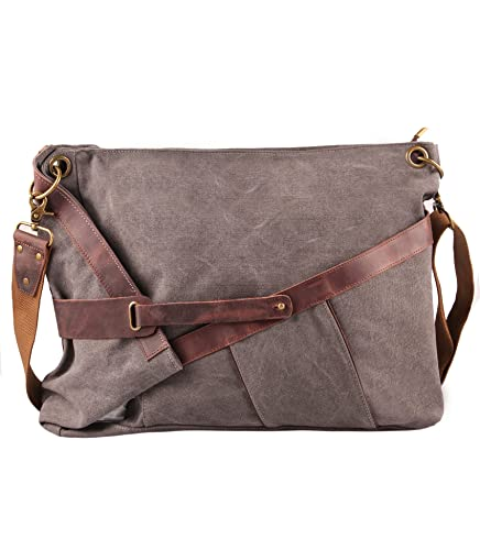 Amazon.com  Tom Clovers Women Men Messenger Handbag Tote Bag Classy Casual Canvas  Crossbody  Shoes 135a6ca3aa
