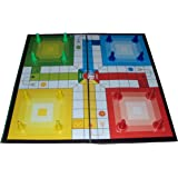 Parteet Ludo, Snakes and Ladder Board Game, Multicolor