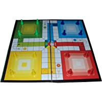 Parteet Ludo,Snakes And Ladder Board Game - Multi Color