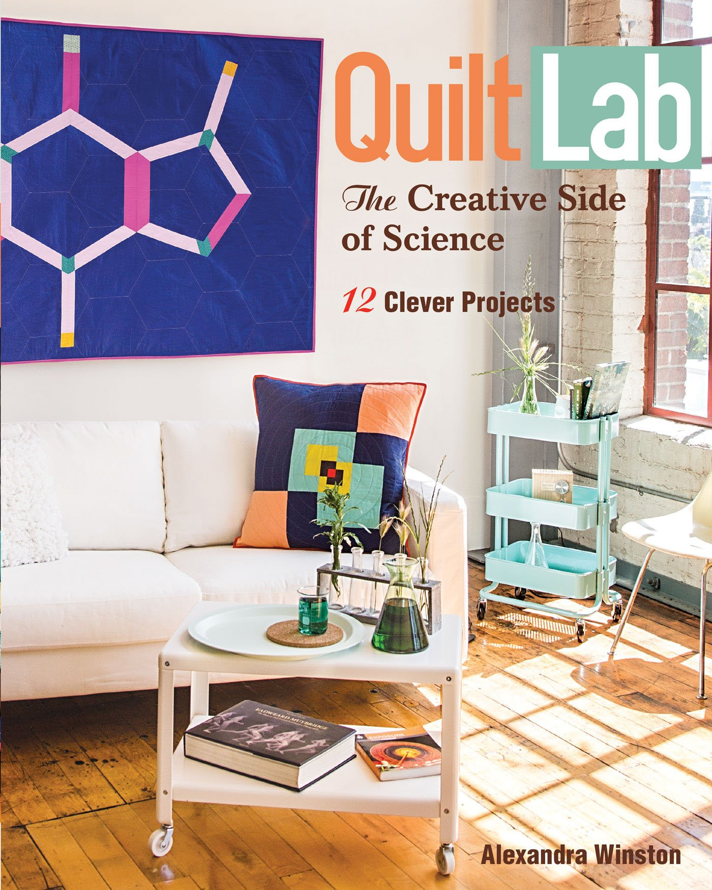 Download Quilt Lab - The Creative Side of Science: 12 Clever Projects PDF