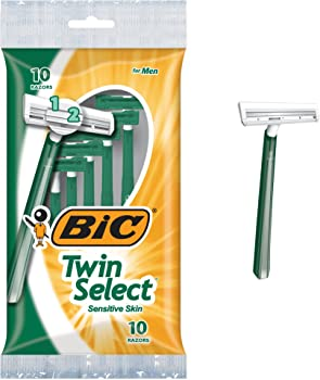 BIC Twin Select Men's Disposable Razor (10 Count)