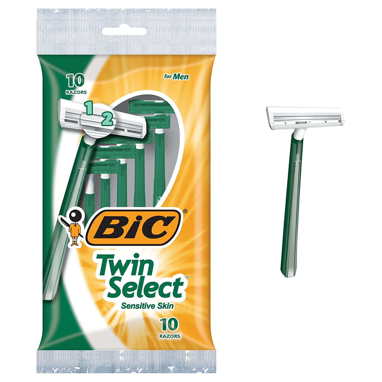 BIC Twin Select Men's Disposable Razor