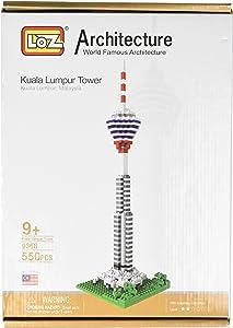 LOZ Kuala Lumpur Tower Building Blocks