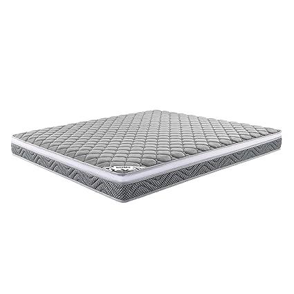 f5a6e7d204313 Amazon Brand - Solimo 6-inch King Size Euro-top Memory Foam Mattress ...