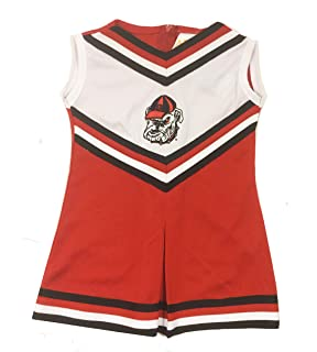 5bc3b1334 Little King Georgia Bulldogs One Piece Cheer Jumper