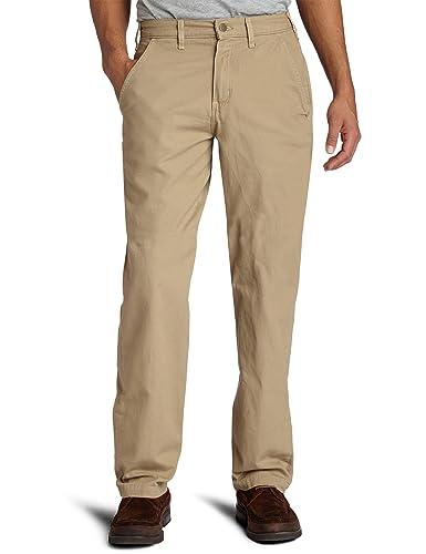 Carhartt Men's Canvas Khaki Relaxed Fit Straight Leg Pant at ...
