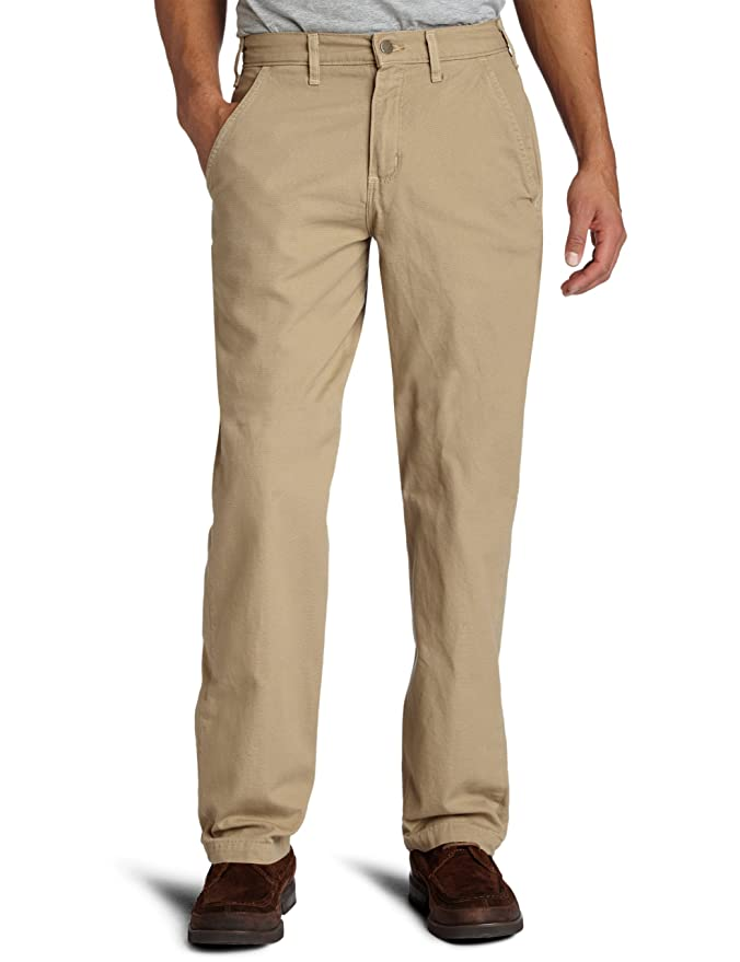 Carhartt Men's Canvas Khaki Relaxed Fit Straight Leg Pant at ...