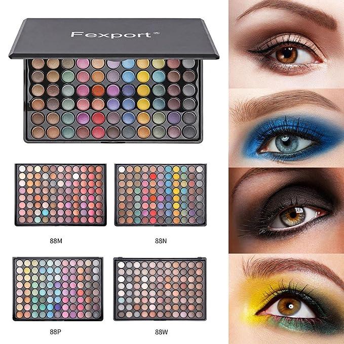 88Colors Eyeshadow Palette Baomabao Concealer Highlighting powder Makeeup Beauty Eye Shadow Palettes (B)