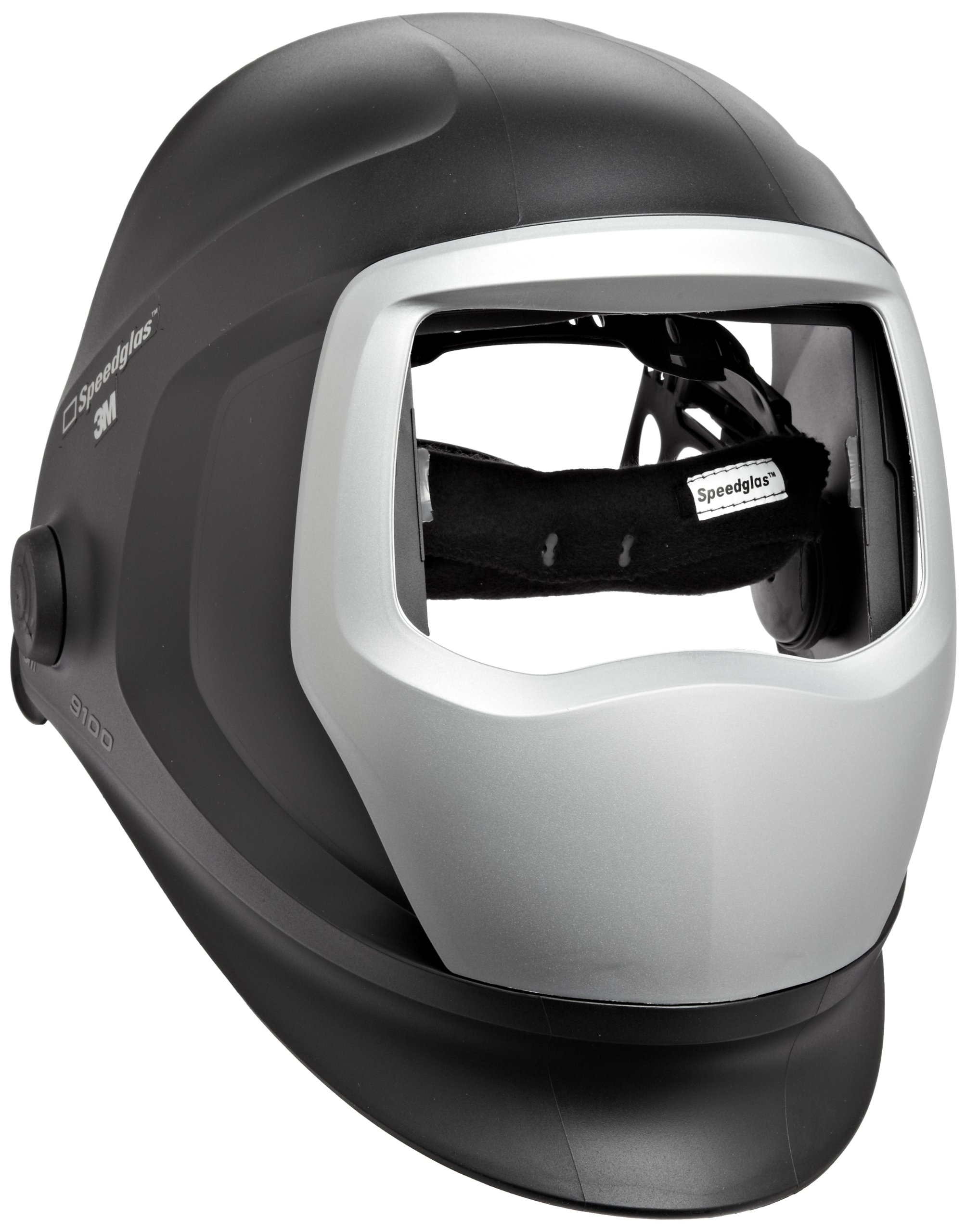 3M Speedglas Welding Helmet 9100, Welding Safety 06-0300-51, with Headband and Silver Front Panel