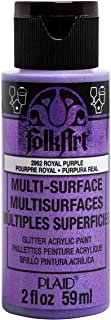 product image for FolkArt multisurface glitter paint, 2 oz, Royal Purple
