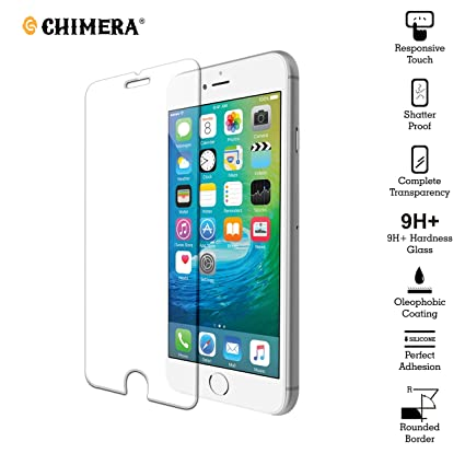Chimera Tempered Glass Screen Protector Guard For: Amazon in
