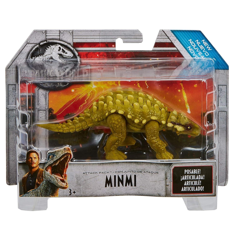 Fvj91 Minmi World De AtaqueJuguetemattel Dinosaurio Jurassic rdQths